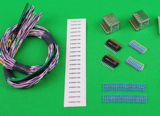 aircraft modification kits manufacturers interconnect wiring