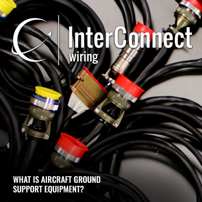 what is aircraft ground support equipment  interconnect wiring