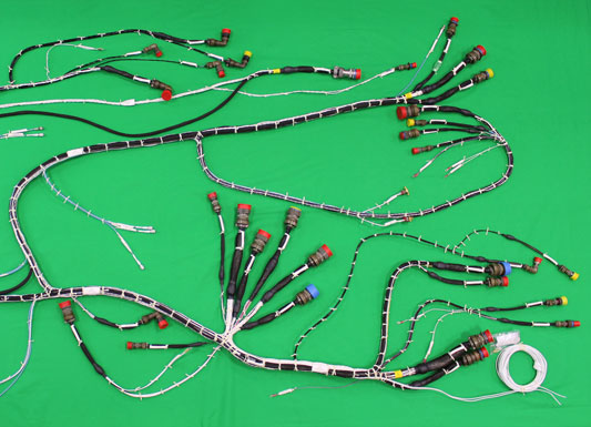 Electrical Wiring Harnesses Wire Harness Assembly